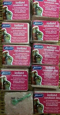 Iodised Condition Block For Budgies, Parrots Etc 33g x10