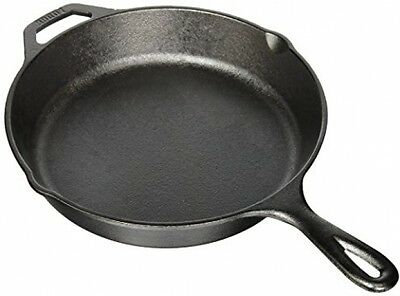 Lodge 26cm 10 Inch Cast Iron Round Skillet Frying Pan Kitchen Cookware