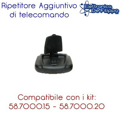 Ripetitore Aggiuntivo Audio E Video Tv Wireless Per Kit Audio/video 2,4Ghz