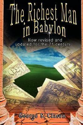 NEW The Richest Man in Babylon By George S. Clason Paperback Free Shipping