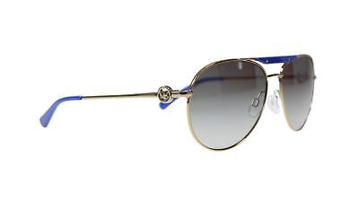 Michael Kors Women's Sunglasses MK5001 100411 Zanzibar Gold/Brown Gradient Lens