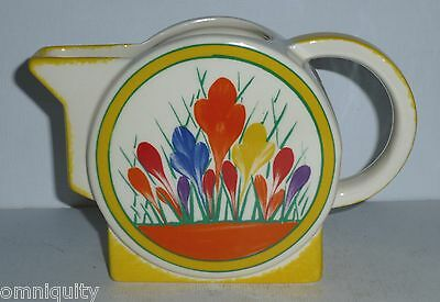 Superb Moorland Clarice Cliff Art Deco Crocus Jug