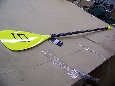 "Surfstow SL-50Y Carbon Fiber Adjustable Paddle Yellow 70""-86"" It FLoats 50089"