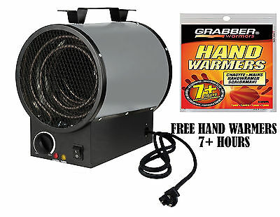 King Electric PGH2440TB 4000-W 240-V Garage Portable Heater with Thermostat
