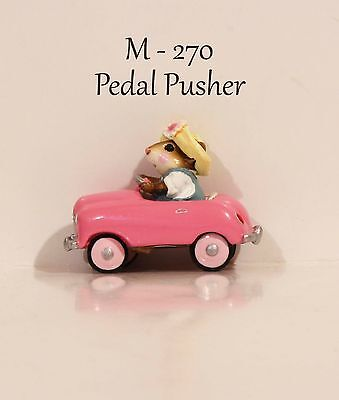 Wee Forest Folk M-120 Pedal Pusher Pink Car Teal Dress With WFF Box