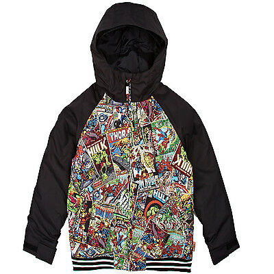 fdb111c49cce BURTON YOUTH BOYS 2017 Snowboard Snow Marvel   Black GAME DAY JACKET ...