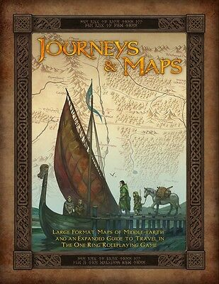 Journeys and Maps - The One Ring RPG - Roleplaying Game Sourcebook