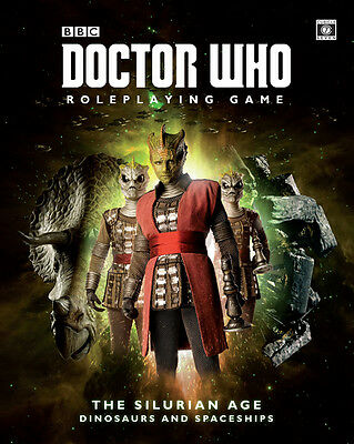 Doctor Who RPG - The Silurian Age - Roleplaying Game Sourcebook