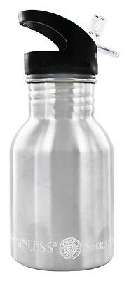 New Wave Enviro Products - Stainless Steel Water Bottle With Flip N' Sip Cap -