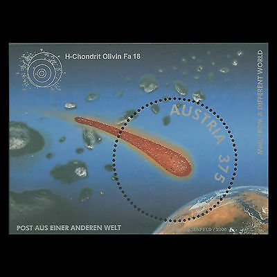 Austria 2006 - Post from Another World Space Comet - Sc 2042 MNH