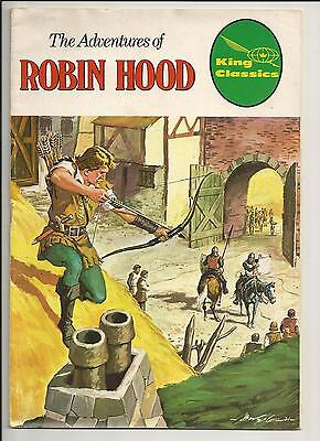 King Classics #4 The Adventures Of Robin Hood First Edition 1977 Bronze Age