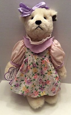 Annette Funicello Collectible Bear Company Jointed Teddy Bear - Christy
