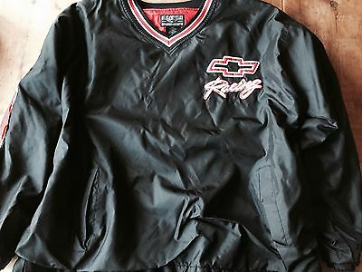 Chevy CHEVROLET RACING Pull-Over (XL) Jacket Used But Mint GM