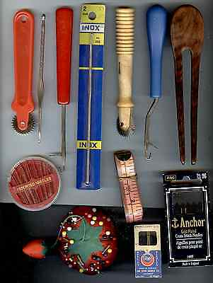 Collection Of Sewing Tools