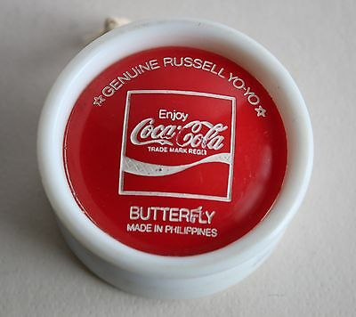 Genuine Russell Coca Cola YO-YO Butterfly Philippines Vintage Retro