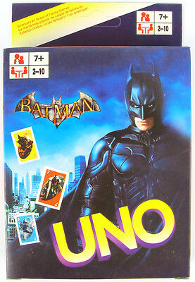 Batman UNO CARDS Family Fun Playing Card Game Toy Board Game