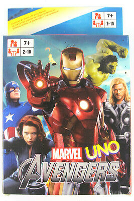 Avengers UNO CARDS Family Fun Playing Card Game Toy Board Game
