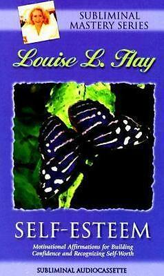 NEW Self-Esteem Affirmations By Louise L. Hay Audio CD Free Shipping