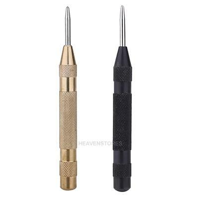 5Inch Automatic Center Pin Punch Spring Loaded Marking Starting Holes Tool E0Xc