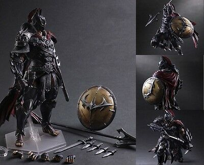 "PLAY ARTS KAI BATMAN TIMELESS SPARTA 11"" ACTION FIGURE NEW IN BOX CHN for gift"
