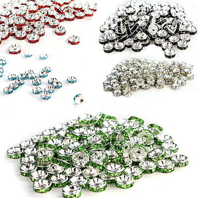 100Pcs 8mm Chapada Granos De Cristal Pursera Beads