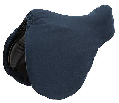NEW Shires Fleece Saddle Cover With Elastic Hem - Protect Tack - FREE P&P