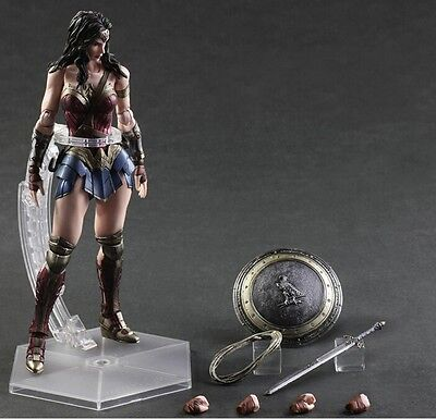Dc Comics Batman V Superman Dawn Of Justice Play Arts Kai Wonder Woman Figure