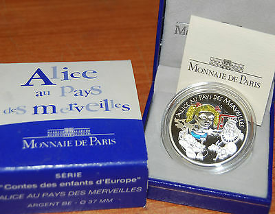 France 2003 Alice Pays Merveilles 1,5 euro Silver Proof - argent 1/2 € silber