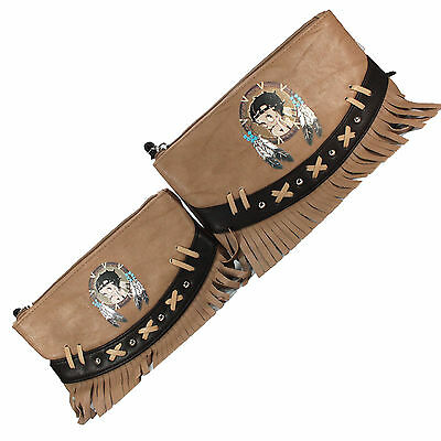 Betty Boop Indian Set Deux Pochettes Maquillage Make-Up Beauty Vanity Trousse