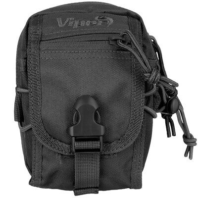 Viper V-Pouch Security Police Nylon Admin Webbing Pouch Travel Belt Pocket Black