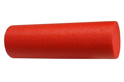 RED FOAM ROLLER 24 x 6 YOGA MASSAGE THERAPY NEW