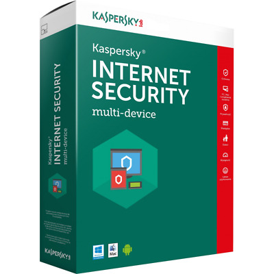 Kaspersky Internet Security 2017 3 devices 1 Year protection license key