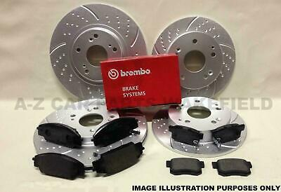FRONT CIVIC 1.8 VTi  MB6 C2 Drilled Grooved Brake Discs