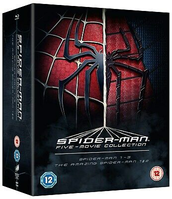The Spider-Man Complete Five Film Collection [Blu-ray]