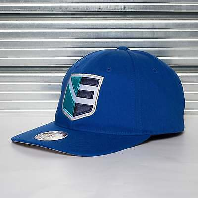 Mitchell & Ness World Cup Of Hockey Team Europe Blue Adjustable Backstrap Cap