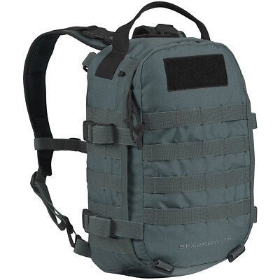 Wisport Sparrow 16L Army Travel Rucksack Military Patrol Molle Day Pack Graphite