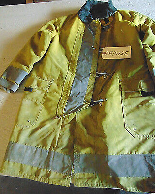 Midwestern Safety Firefighters Jacket, Size 42