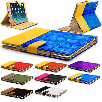 New Smart Stand Magnetic Leather Case Cover For APPLE iPad Air Pro 4 3 2 Mini