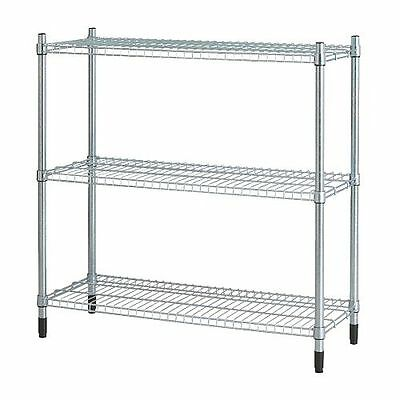 EASY TO ASSEMBLE Shelving unit OMAR Galvanised 92x94x36 cm