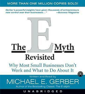 NEW The E-Myth Revisited (AUDIO CD VERSION) By Michael E. Gerber Audio CD