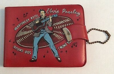 Elvis Presley 1956 Red  Wallet  EPE - Near Mint