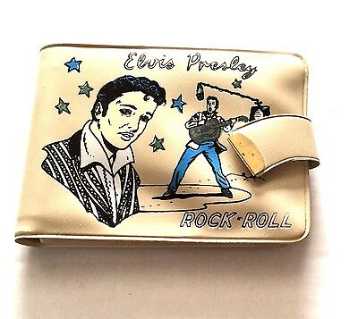 Elvis Presley 1956 Tan  Wallet  EPE - Near Mint