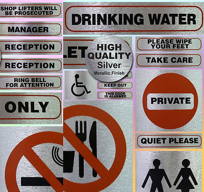 Health and Safety Warning Signs Work Site Information Self Adhesive Stickers No2