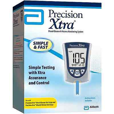 Blood Glucose And Ketone Monitoring System Precision Xtra NFR Health Medical Aid