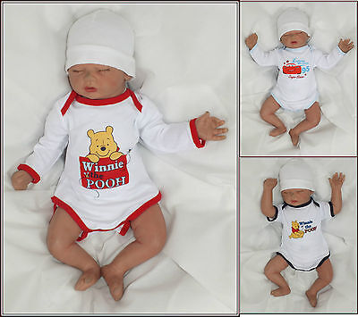 DISNEY Baby Body Manches longues Manche courte Winnie the Pooh Voitures 62 68 74