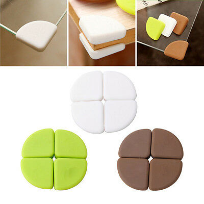 4Pcs Baby Silicon Arc Corner Protector Kids Table Corner Cover Safety Guards