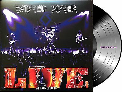 2 Lp Vinilo Twisted Sister Live At Hammersmith 180G Purple Vinyl Limited Edition