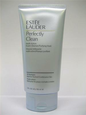 ESTEE LAUDER Perfectly Clean Multi-Action Foam Cleanser / Purifying Mask 150 ml