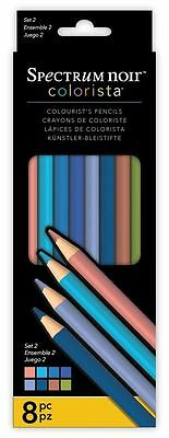 Spectrum Noir - Colorista Professional Arts & Craft Set 2 Pencil Pack (8 Pack)
