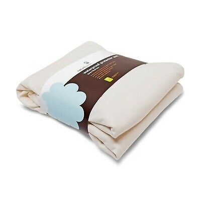 New Naturepedic Organic Waterproof Fitted Stretch Knit Protector Pad - Twin